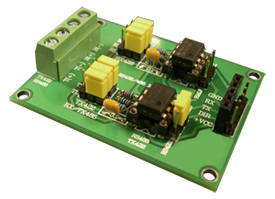 Dual-channel Differential to Single Ended Converter, 1000-01